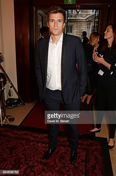 Greg James attends the GQ Men Of The Year awards in association with Hugo Boss at The Royal Opera House on September 2 2014 in London England