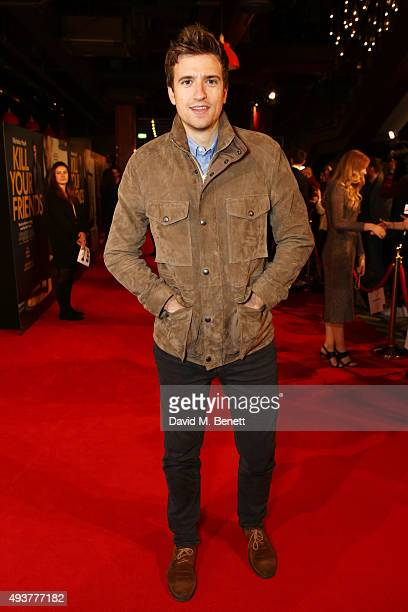 Greg James attends the UK Premiere of 'Kill Your Friends' at the Picturehouse Central on October 22 2015 in London England