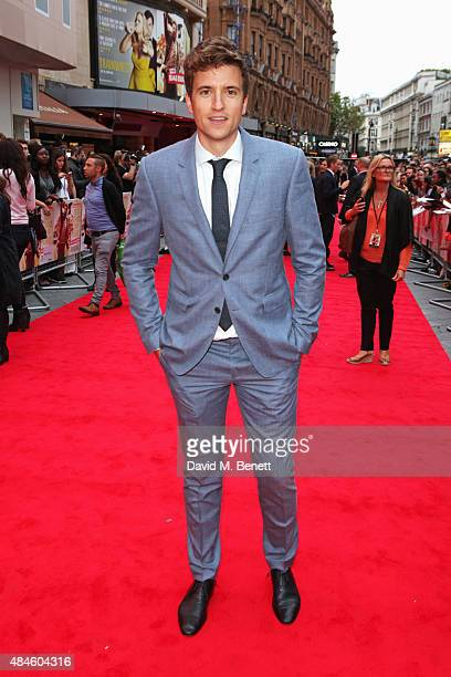 Greg James attends the World Premiere of 'The Bad Education Movie' at Vue West End on August 20 2015 in London England