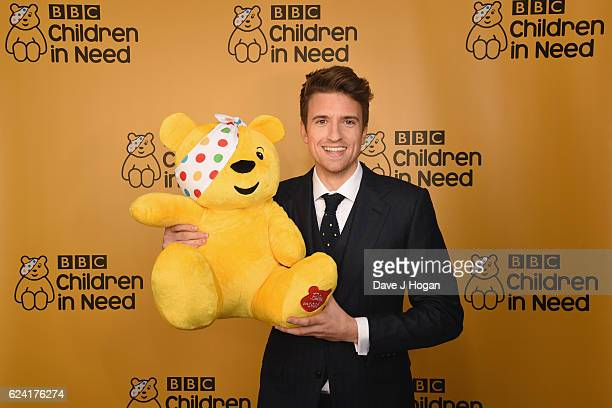 Greg James hosts BBC Children in Need at Elstree Studios on November 18 2016 in Borehamwood United Kingdom
