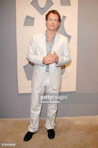 Greg Kinnear attends CALVIN KLEIN COLLECTION LOS ANGELES NOMADIC DIVISION CELEBRATE LA ARTS MONTH ART LOS ANGELES CONTEMPORARY at Los Angeles on...