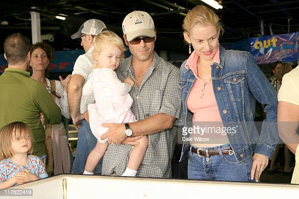 Greg Kinnear with daughter and Penelope Ann Miller