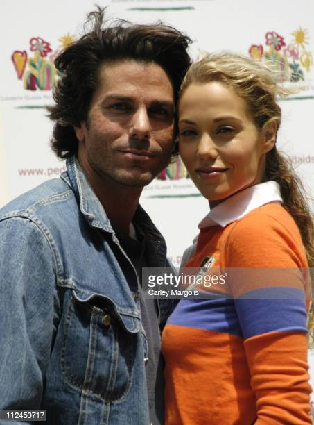 Greg Lauren and Elizabeth Berkley during 13th Annual Kids for Kids Celebrity Carnival to Benefit the Elizabeth Glaser Pediatric AIDS Foundation at...