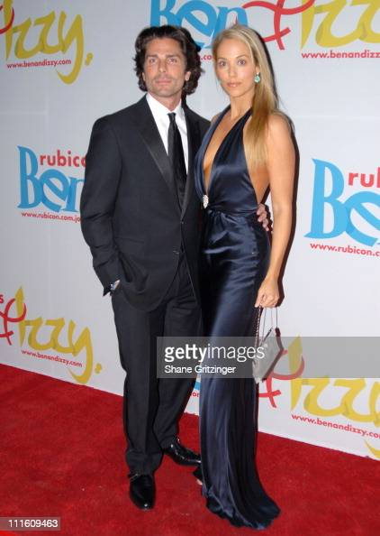 Greg Lauren and Elizabeth Berkley during Rubicon's 'Ben and Izzy' Gala with Special Host Her Majesty Queen Rania AlAbdullah of Jordan at The...