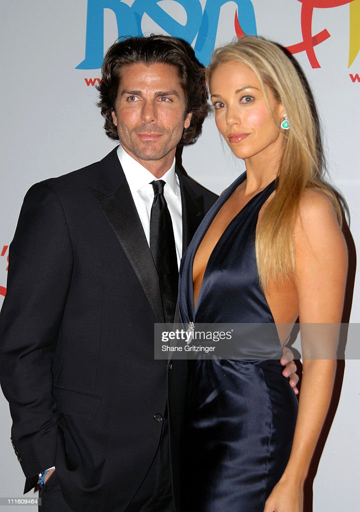 Greg Lauren and Elizabeth Berkley during Rubicon's 'Ben and Izzy' Gala with Special Host Her Majesty Queen Rania Al-Abdullah of Jordan at The Metropolitan Museum Of Modern Art in New York City, New York, United States.