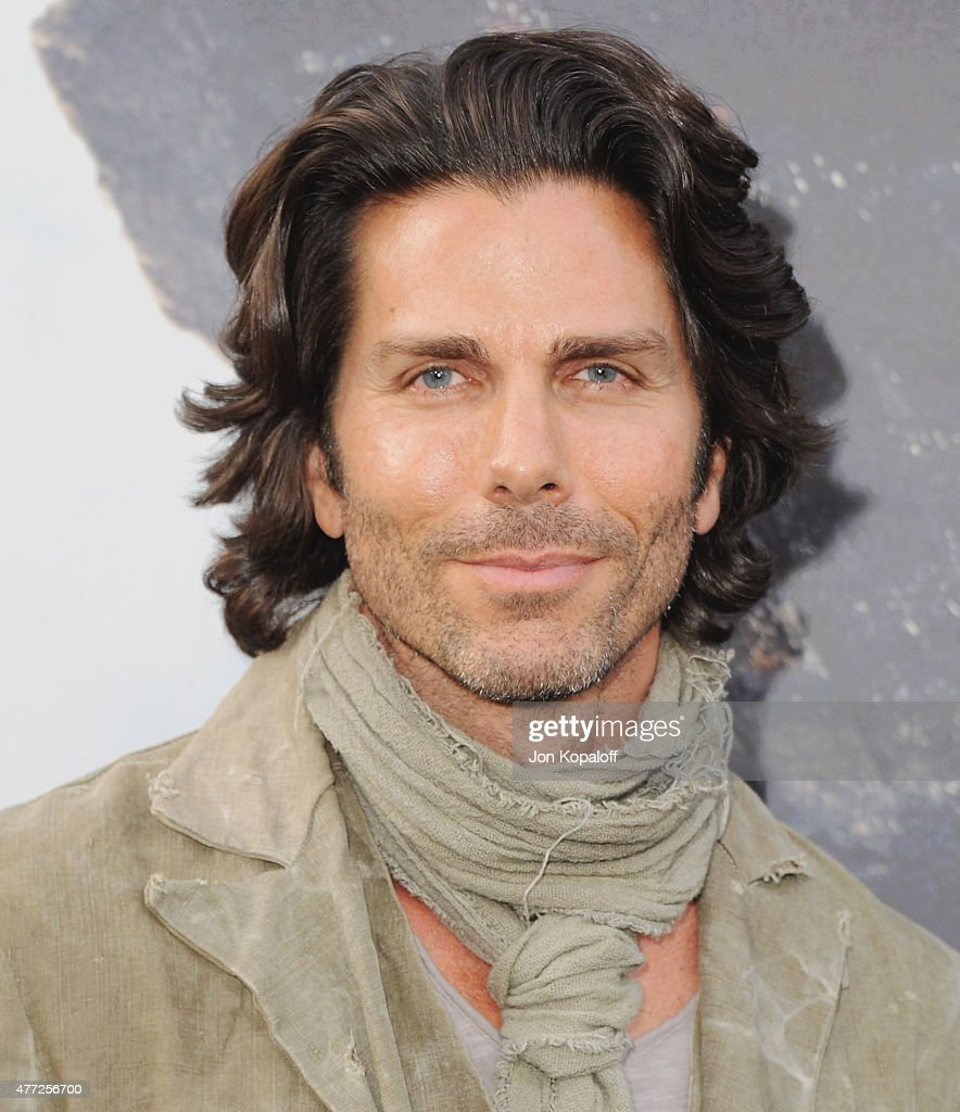 Greg Lauren arrives at the Premiere Of Warner Bros Pictures' 'San Andreas' at TCL Chinese Theatre on May 26 2015 in Hollywood California