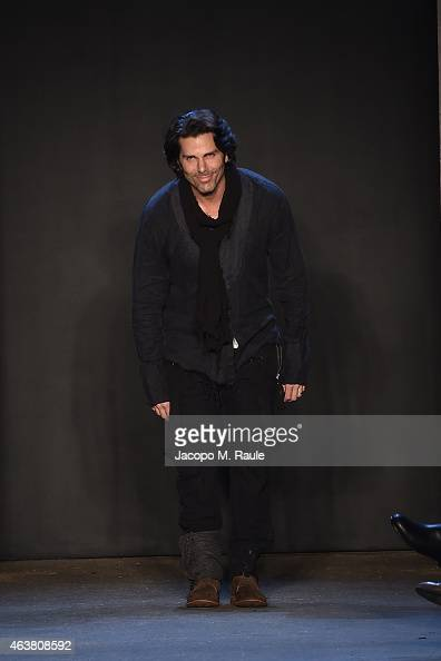 Greg Lauren attends the Greg Lauren fashion show during MercedesBenz Fashion Week Fall 2015 at ArtBeam on February 18 2015 in New York City