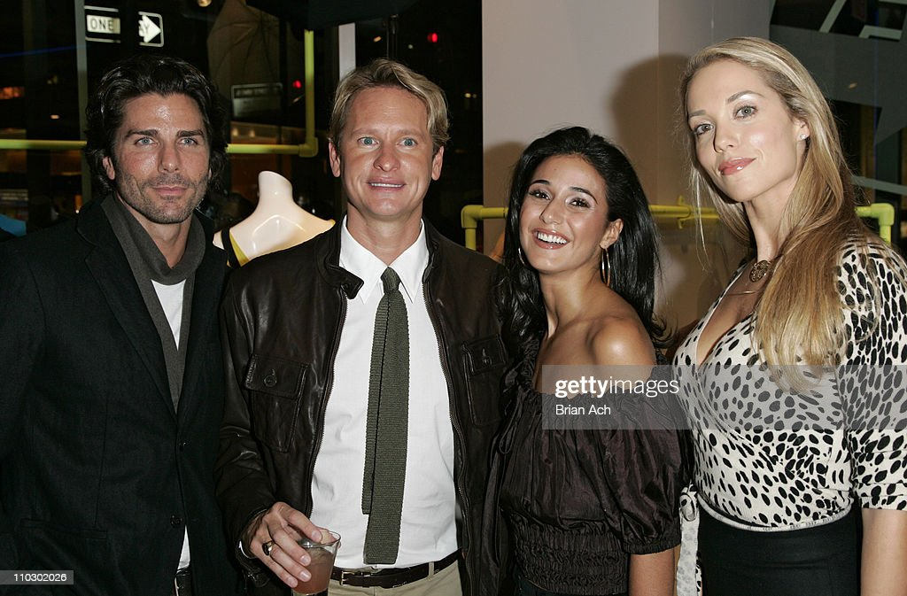 Greg Lauren, Carson Kressley, Emmanuelle Chriqui, and Elizabeth Berkley