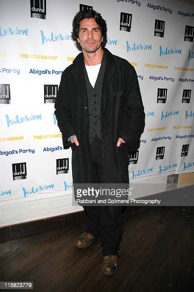 Greg Lauren during The New Group Presents 'Abigail's Party' at Sacha in New York City New York United States