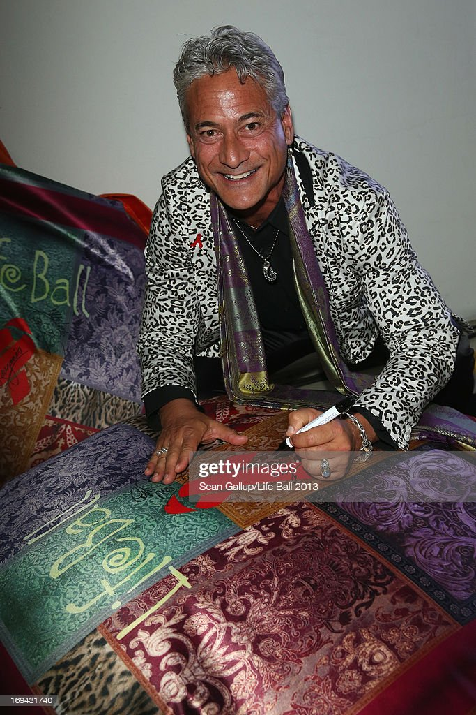 <a gi-track='captionPersonalityLinkClicked' href=/galleries/search?phrase=Greg+Louganis&family=editorial&specificpeople=217786 ng-click='$event.stopPropagation()'>Greg Louganis</a> attends the 'Life Ball 2013 - Welcome Cocktail' at Le Meridien Hotel on May 24, 2013 in Vienna, Austria.