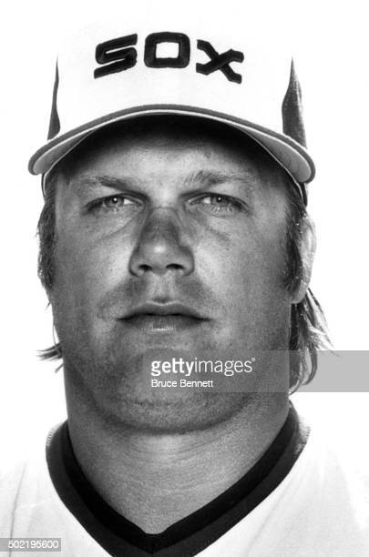 Greg Luzinski of the Chicago White Sox poses for a portrait in March 1982 in Chicago Illinois