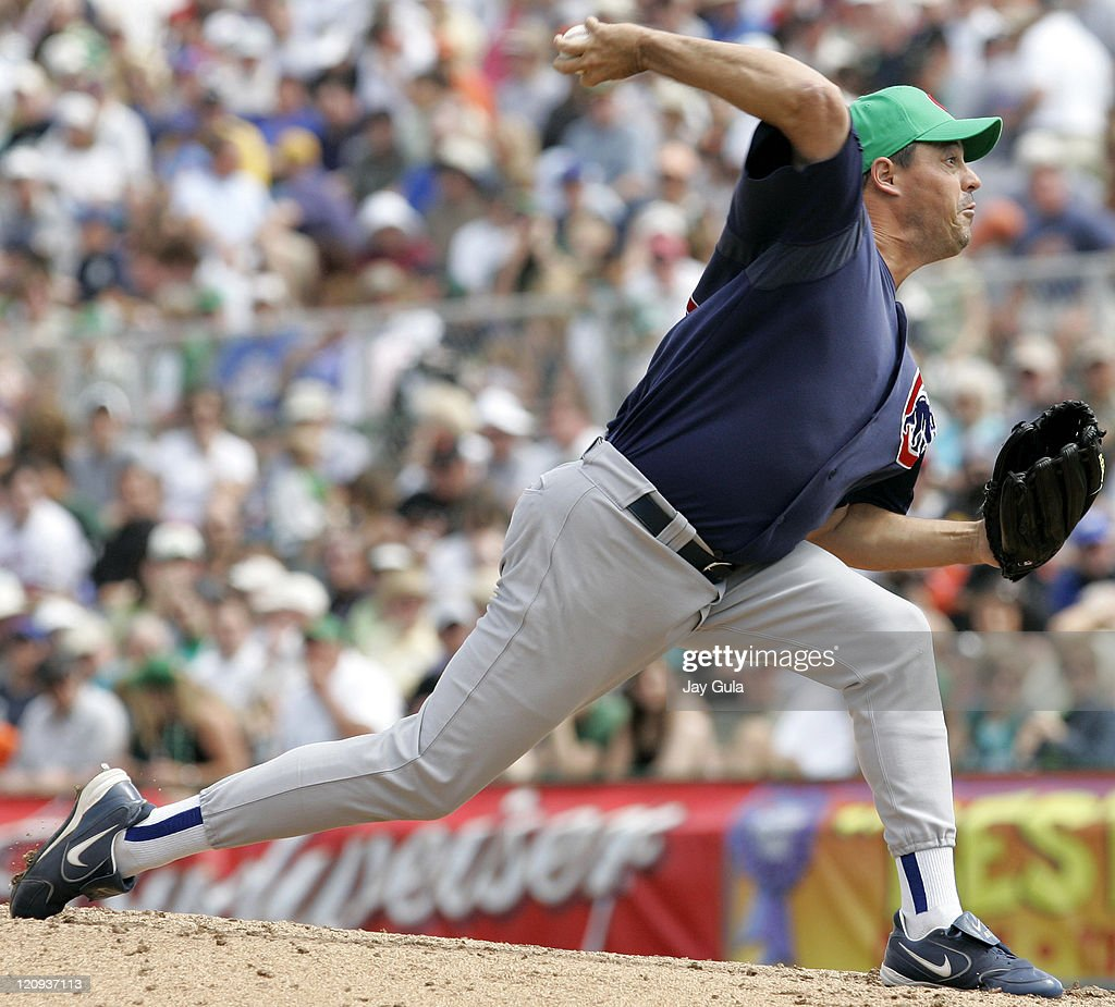 Greg Maddux started for the Cubs today vs San Francisco in Cactus League action at Scottsdale Stadium in Scottsdale Arizona on March 17 2006
