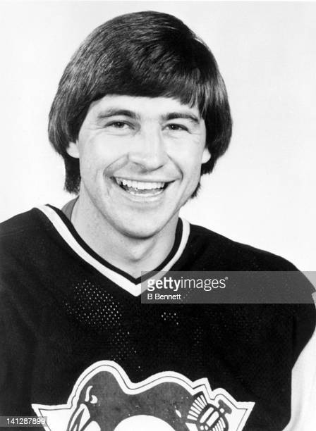 Greg Malone of the Pittsburgh Penguins poses for a portrait in September 1981 in Pittsburgh Pennsylvania