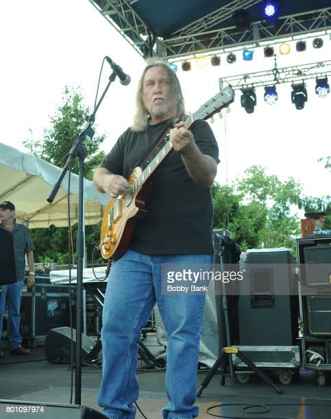 Greg Martin of The Kentucky Headhunters performs at the 8th Annual Rock Ribs Ridges Festival at Sussex County Fairgrounds on June 25 2017 in Augusta...