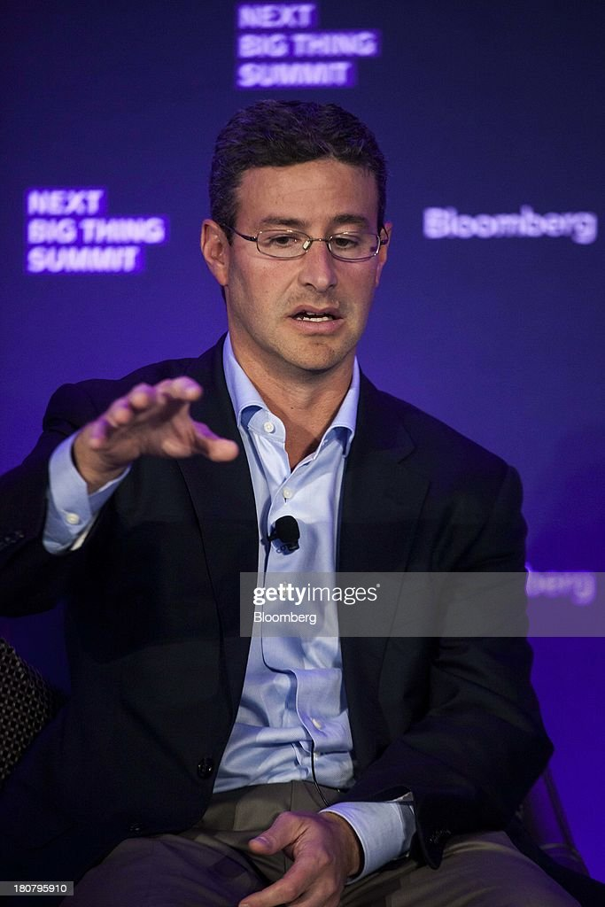 Greg Mondre, managing partner and managing director at Silver Lake Management LLC, speaks at the Bloomberg Next Big Thing Summit in New York, U.S., on Monday, Sept. 16, 2013. The conference convenes the most influential investors and industry leaders in innovation and science to explore the great frontiers of how technology is changing the way we live, work, and interact. Photographer: Michael Nagle/Bloomberg via Getty Images