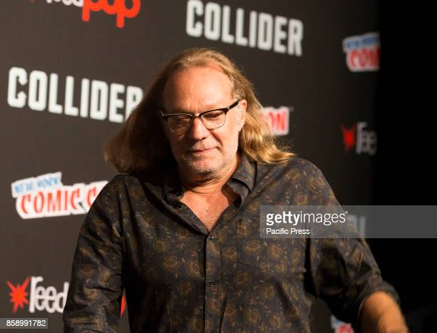 Greg Nicotero attends The Walking Dead panel at The Theater at Madison Square Garden during Comic Con 2017