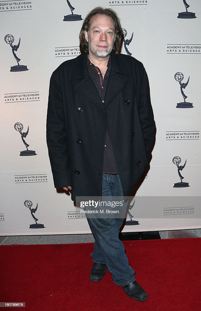 Greg Nicotero, co-executive producer/special effect EFX makeup, attends The Academy Of Television Arts & Sciences Presents An Evening With 'The Walking Dead' at the Leonard H. Goldenson Theatre on February 5, 2013 in North Hollywood, California.