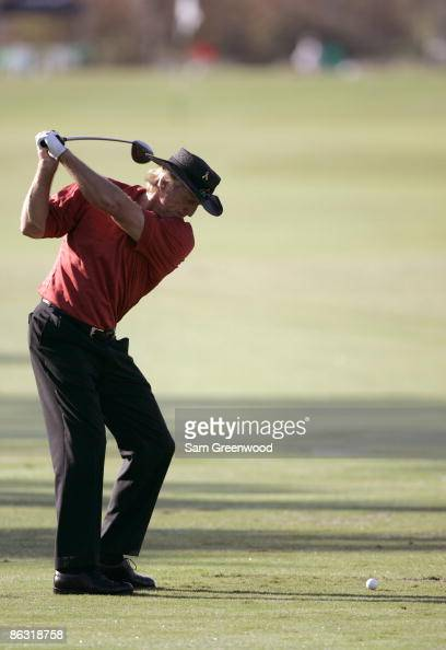 Greg Norman during the second round of the Franklin Templeton Shark Shootout held on the Tiburon course at the RitzCarlton Golf Resort in Naples...