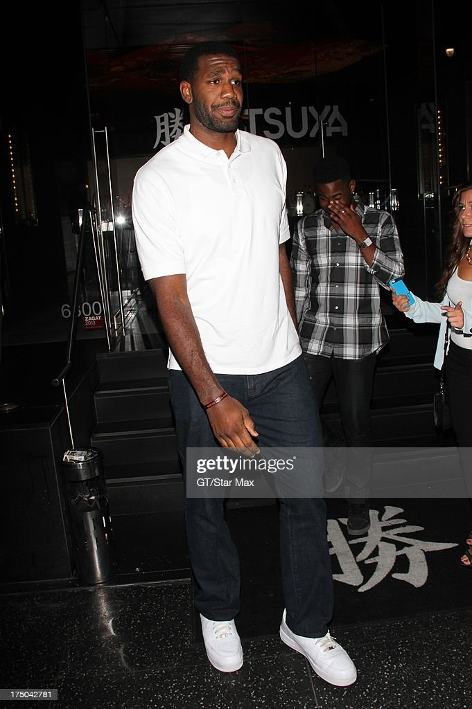 <a gi-track='captionPersonalityLinkClicked' href=/galleries/search?phrase=Greg+Oden&family=editorial&specificpeople=812113 ng-click='$event.stopPropagation()'>Greg Oden</a> as seen on July 29, 2013 in Los Angeles, California.
