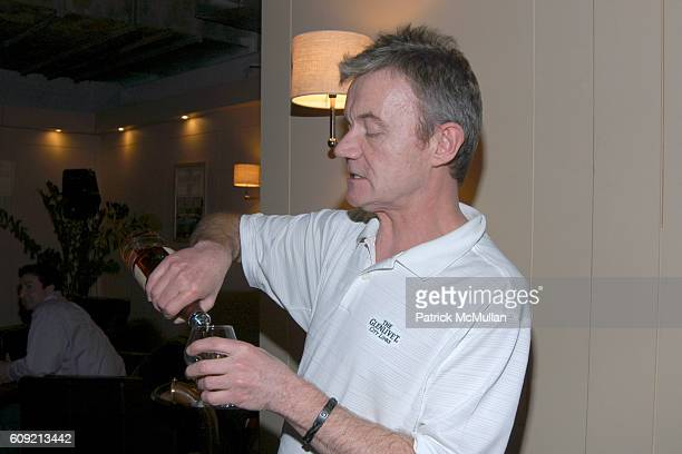 Greg O'Donovan attends SCOTCH WHISKY GOLF Hosted by The Wall Street Journal Paul Staurt at The Glenlivet City Links on February 9 2007 in New York...