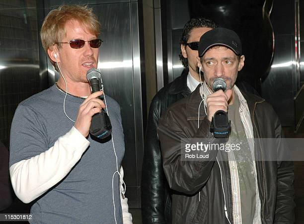 Greg 'Opie' Hughes and Anthony Cumia during Denis Leary with Opie and Anthony May 23 2006 in New York City New York United States