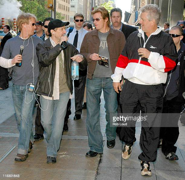 Greg 'Opie' Hughes Anthony Cumia Denis Leary and Lenny Clarke