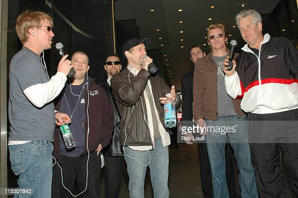 Greg 'Opie' Hughes Jim Norton Anthony Cumia Denis Leary and Lenny Clarke