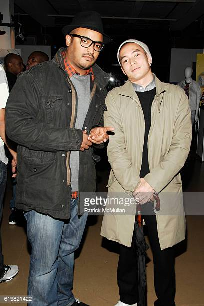 Greg OS and Eugene Tong attend REEBOK Spring/Summer 2009 Preview Party at XCHANGE on October 28 2008 in New York City