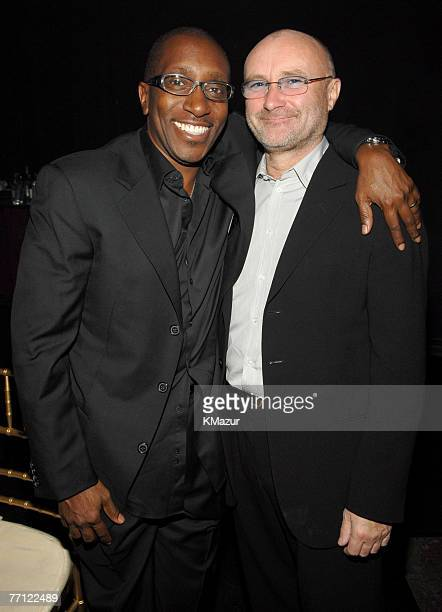 Greg Phillinganes and Phil Collins