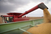 Greg Porth harvests soybeans on October 2 2013 near Worthington Minnesota According to the Commerce Department farm earnings nationwide were down...
