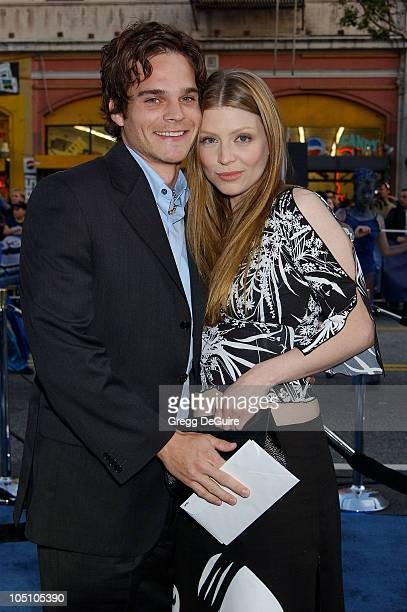 Greg Rikaart Amber Benson during 'X2 XMen United' Premiere Los Angeles Arrivals at Grauman's Chinese Theatre in Hollywood California United States