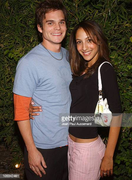 Greg Rikaart and Christel Khalil during SOAPnet Fall 2004 Launch Party at Falcon in Hollywood California United States