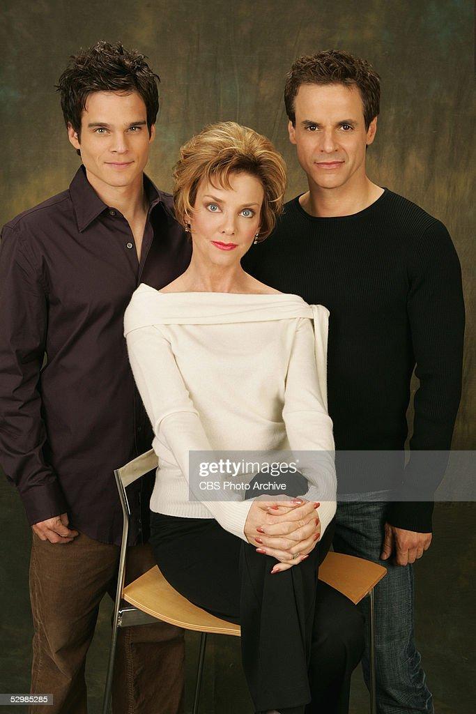 Greg Rikaart Judith Chapman and Christian Jules LeBlanc star as Kevin Fisher Gloria Fisher Abbott and Michael Baldwin on the CBS daytime drama THE...