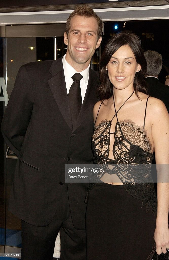 Greg Rusedski And Wife Lucy, 'Master And Commander: The Far Side Of The World' Royal Premiere At The Odeon Leicester Square, London
