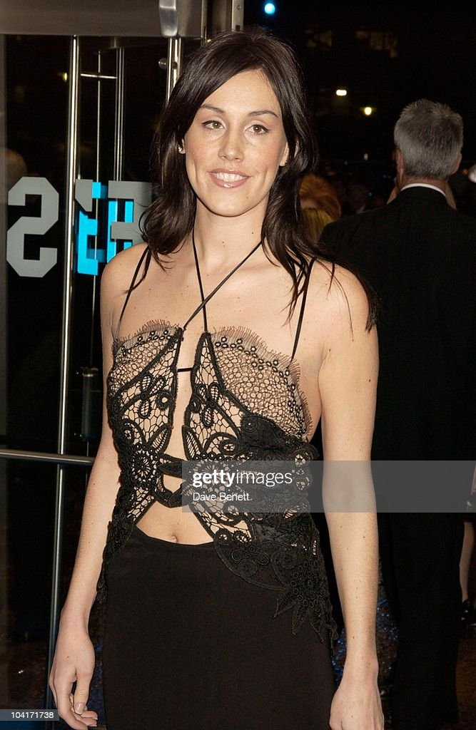 Greg Rusedski's Wife Lucy, 'Master And Commander: The Far Side Of The World' Royal Premiere At The Odeon Leicester Square, London