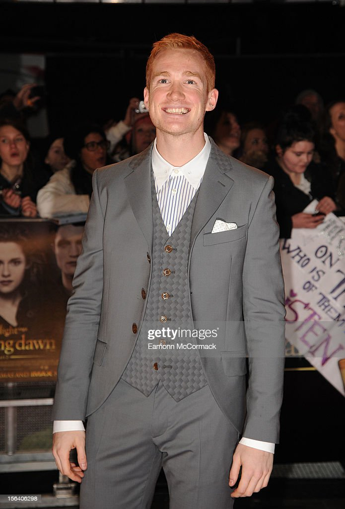 <a gi-track='captionPersonalityLinkClicked' href=/galleries/search?phrase=Greg+Rutherford&family=editorial&specificpeople=740587 ng-click='$event.stopPropagation()'>Greg Rutherford</a> attends the UK Premiere of 'The Twilight Saga: Breaking Dawn - Part 2' at Odeon Leicester Square on November 14, 2012 in London, England.