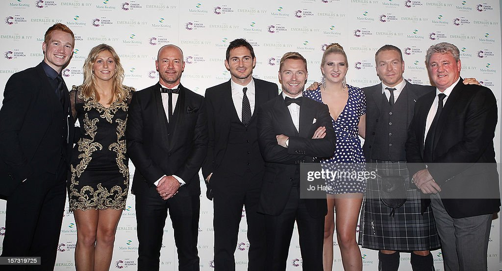 <a gi-track='captionPersonalityLinkClicked' href=/galleries/search?phrase=Greg+Rutherford&family=editorial&specificpeople=740587 ng-click='$event.stopPropagation()'>Greg Rutherford</a>, <a gi-track='captionPersonalityLinkClicked' href=/galleries/search?phrase=Gemma+Gibbons&family=editorial&specificpeople=7541729 ng-click='$event.stopPropagation()'>Gemma Gibbons</a>, <a gi-track='captionPersonalityLinkClicked' href=/galleries/search?phrase=Alan+Shearer&family=editorial&specificpeople=157676 ng-click='$event.stopPropagation()'>Alan Shearer</a>, Frank Lampard, <a gi-track='captionPersonalityLinkClicked' href=/galleries/search?phrase=Ronan+Keating&family=editorial&specificpeople=201657 ng-click='$event.stopPropagation()'>Ronan Keating</a>, <a gi-track='captionPersonalityLinkClicked' href=/galleries/search?phrase=Rebecca+Adlington&family=editorial&specificpeople=872897 ng-click='$event.stopPropagation()'>Rebecca Adlington</a>, Sir <a gi-track='captionPersonalityLinkClicked' href=/galleries/search?phrase=Chris+Hoy&family=editorial&specificpeople=171259 ng-click='$event.stopPropagation()'>Chris Hoy</a> and Steve Bruce pose backstage at The Emeralds and Ivy Ball on December 1, 2012 in London, England.