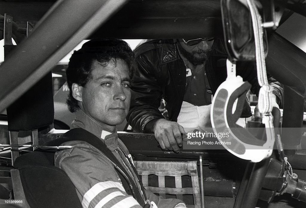 Greg Sacks gets ready to start the Pepsi Firecracker 400. Sacks would take first place and $45,350.