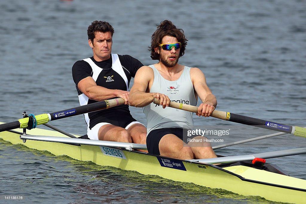 Tom Ransley rowing