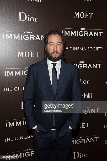 Greg Shapiro attends the Dior Vanity Fair with The Cinema Society premiere of The Weinstein Company's 'The Immigrant'>> at The Paley Center for Media...