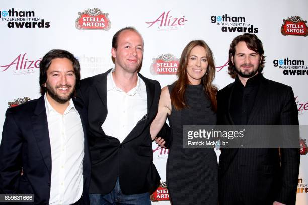 Greg Shapiro guest Kathryn Bigelow and Mark Boal attend IFP's 19th Annual Gotham Independent Film Awards at Cipriani Wall Street on November 30 2009...