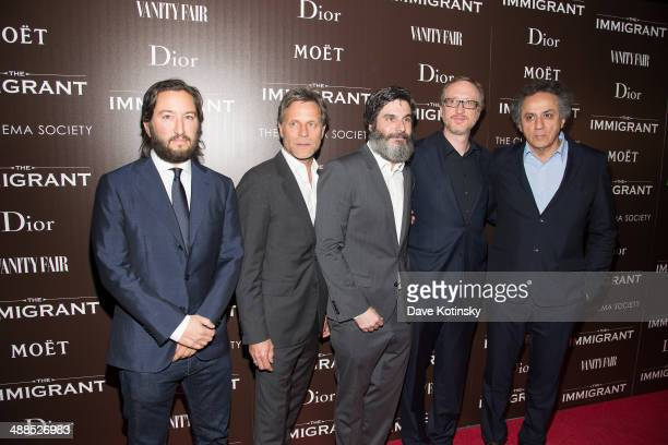 Greg Shapiro Happy Massee Anthony Katagas James Gray Darius Khondji attends the Dior Vanity Fair with The Cinema Society premiere of The Weinstein...