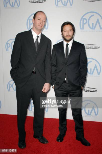 Greg Shapiro Nicolas Chartier attend The 21st Annual Producer's Guild Awards at Hollywood Palladium on January 24 2010 in Hollywood California