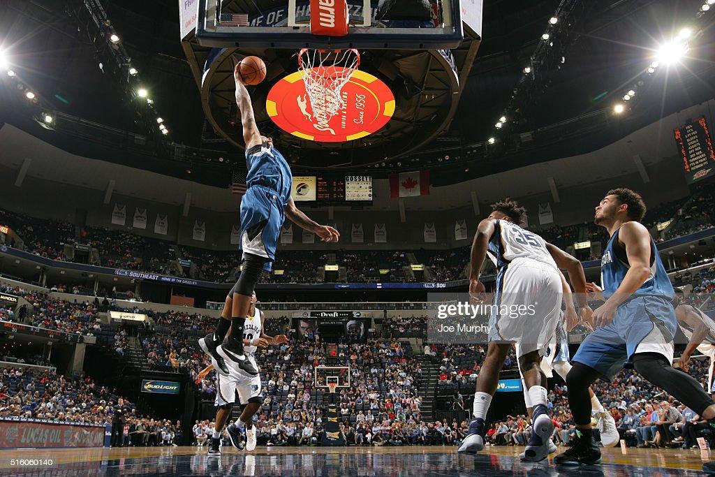 Minnesota Timberwolves v Memphis Grizzlies
