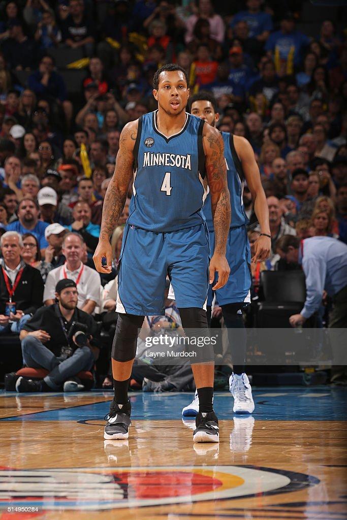 Minnesota Timberwolves v Oklahoma City Thunder