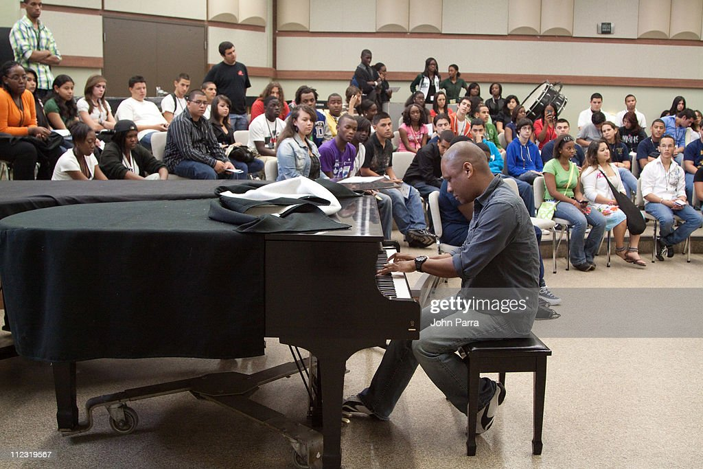 Greg Stryke Chin performs during the Florida Chapter GRAMMY Career Day at Frost School of Music at University of Miami Gusman Concert Hall on May 19, 2010 in Coral Gables, Florida.