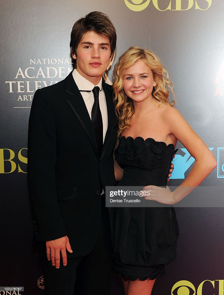 Greg Sulkin and Brittany Robertson arrive at the 37th Annual Daytime Emmy Awards at Las Vegas Hilton on June 27, 2010 in Las Vegas, Nevada.