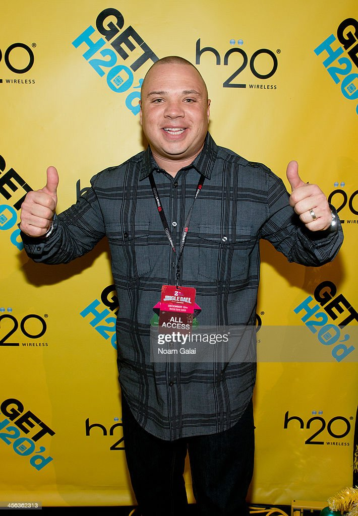 Greg T attends the Z100 & Coca-Cola All Access Lounge at Hammerstein Ballroom on December 13, 2013 in New York City.