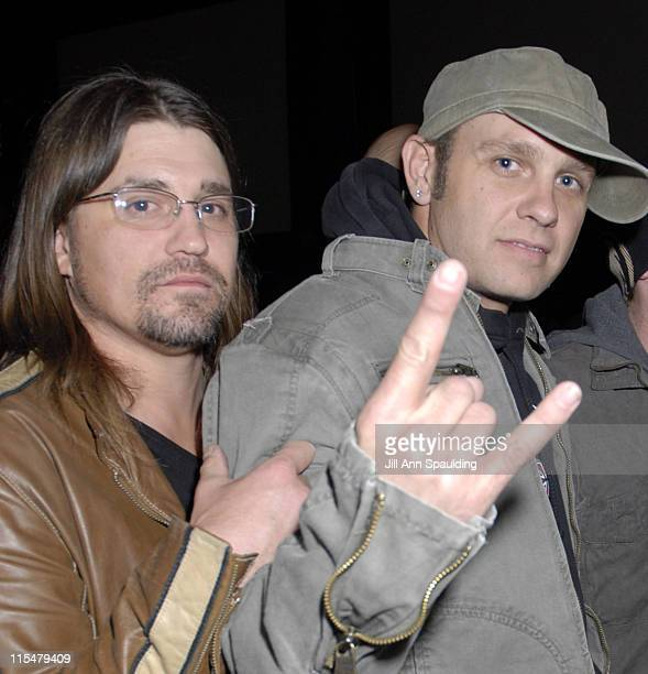 Greg Upchurch and Todd Harrell during Birthday Party at Pure Nightclub for 3 Doors Down Band Member Matt Roberts at Pure Nightclub at Ceasar's Palace...