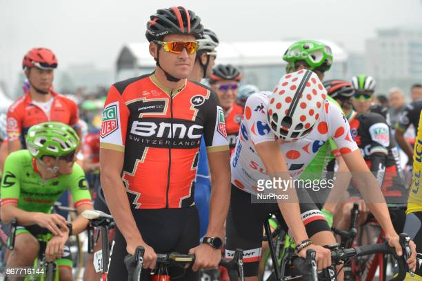 Greg VAN AVERMAET and Warren BARGUIL at the start to the 1st TDF Shanghai Criterium 2017 On Sunday 29 October 2017 in Shanghai China